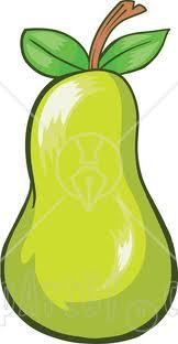 Almost any of juicy fruits but my favorite..is Green Pear!!