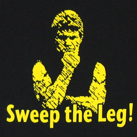 I'd Sweep the leg.