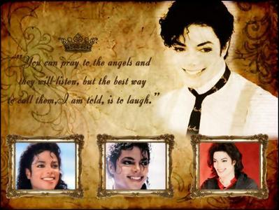 4 me it wld b Speechless, Heal The World, Smile, She Out Of My Life, Du Are Not Alone.