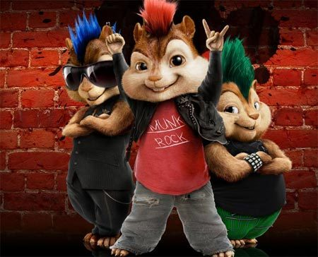 How about this?, Alvin and the Chipmunks!!