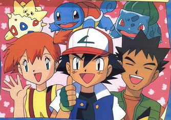 ASH, MISTY AND BROCK! But I kind of stopped watching Pokemon after the first season was over. The indigo league is all I remember (sigh). I was such a nerd.