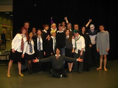 StarKid peeps! I lovelovelove them :) Especially Lauren :) And Darren, Joey, Brian, Bonnie, Joe and you just get my drift ;) I also pag-ibig YouTubers like Charlie McDonnell, Alex Day, Kristina Horner, Kayley Hyde and Hank and John Green :) NERDFIGHTERS FTW!