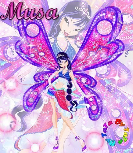 I always प्यार the Winx Club. I would be a natural and संगीत fairy :)