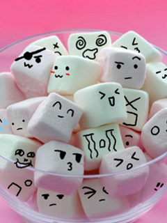 """Isn't it better if we don't all fit in? That way it will be even еще random... & plus, life is unfair & people aren't normal! xD """"Life is like a box of chocolates..."""" <3 или in this case marshmallows..."""