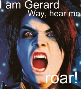 I'll send Gerard over to suck your blood and I'll punch, punzone te back and slap u