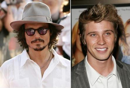 My celeb crushes are Johnny Depp and Garrett Hedlund <3