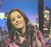 Lisa Marie Presley. I don't know what I'd do without her music.