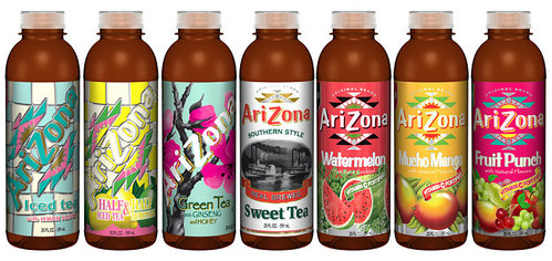 Arizona. XD yêu thích thing to drink! Otherwise it would be Sprite....