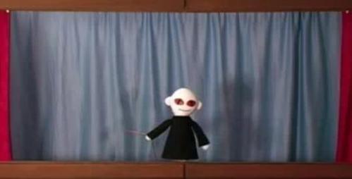 "Nothing beats puppet Dark Lord. ""Voldemort, Voldemort, Oh Voooldy, Voldy Voldy Voldy, Voldemort!"""