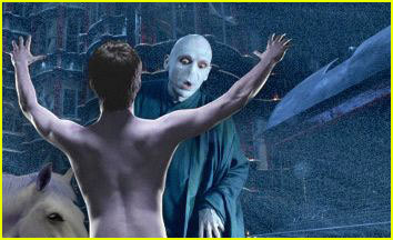 I found this on google. I wonder if Voldy would react like this??