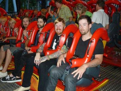 David Cook and the Anthemic (first 4 dudes on the ride)