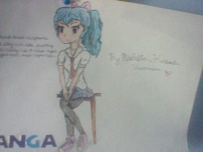 YESH I LUUUURRRRVVV ANIME!!! i mean, who on this site doesnt? here is an Anime picture that i drew
