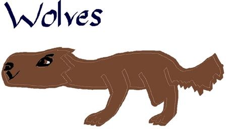 Here's mine, I know, the chó sói, sói is horrible but I can't draw Người sói for my life