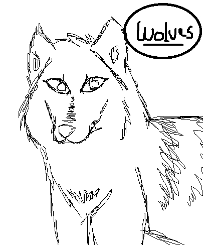 Here's mine. Sorry it's not colored, my drawings look a lot better when sketched ^^