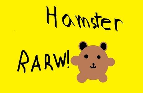 my hamster, isn't it scary