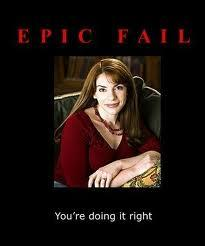 I have to disagree it is epic... an epic fail