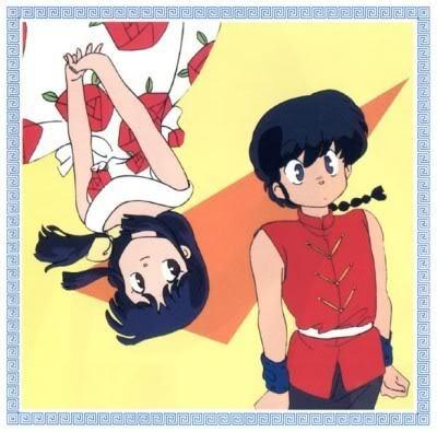 Ranma and Akane. ~<3