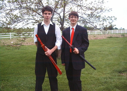 im the guy on the right with the katana and suit, as for my type im a vượt qua, cross between an anime otaku and a swordsman. im all about bushido.