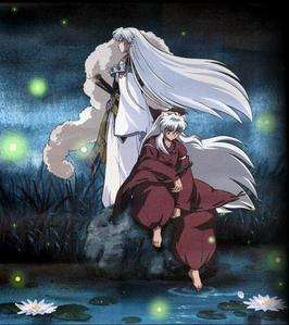 It's both. There's yaoi, and there's them just being brothers. Both are welcome here:) I created this spot for the yaoi, just in case anybody had material they wanted to share and didn't feel comfortable uploading it on the Inuyasha spot of Sesshomaru spot, but also to isolate this pairing from the mesh of the main Yaoi spot. I also understand that incest even in fanfiction is something that isn't entirely accepted door the main stream of most Yaoi fans, so I thought it best to have this on the side rather than to post all kinds of material for it on the main spot. Besides that I also wanted a spot just for them as brothers independent from the Sess and Inu spots, where fans can just focus simply on them and their relationship as brothers either in fanfiction of the real Inuyasha series. They're such an intriguing pare of interactive demons that I thought they deserved to have a spot all their to themselves, the Sess-and-Inu club:)