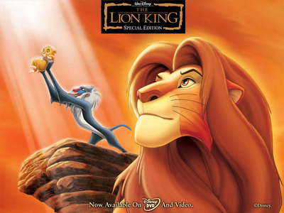 It would have to be Lion King, btu I प्यार many और but this one takes the cake