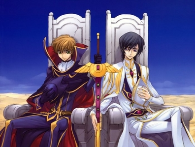 the final episode of Code Geass.....especially the part where lelouch dies T_T