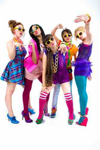 Right now, I amor these <3 They're called The Stunners, They're a girl group