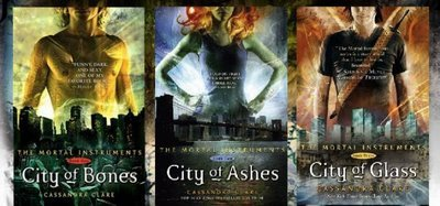 Try: The Mortal Instrument series da Cassandra Clare- they are AMAZING! (not too sure it's like Harry Potter though...)