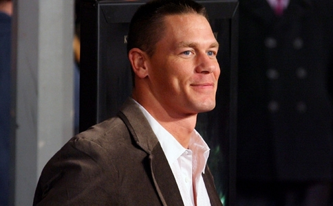 John Cena ♥ just look at his dimples!! soo darn cute!! <333
