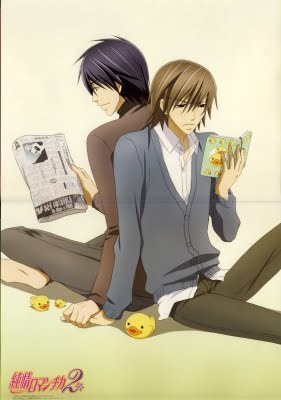 "Junjou Romantica made me cry a few times, specially in the ""junjou egoist"" episodes. I cried a lot with Fruits Basket! And also with NANA & Paradise Kiss! ;)"