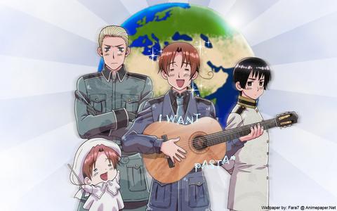 হেটালিয়া Axis Powers!!! it's make me laugh!!