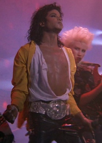 I love him in Dirty Diana and in Come together too!!! :) he's so hot!!!