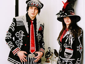 The White Stripes!! Even though there's two of them and it's actually a band, it still counts because they both sing!