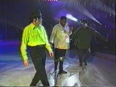 This one from the dangerous world tour rehearsal