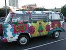 This is a 60's furgone, van that screams 60's!