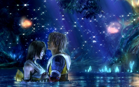 i kinda have my own too! it reminds me of kingdom hearts and final fantasy.this is how it looks. (sorry about tidus and yuna)