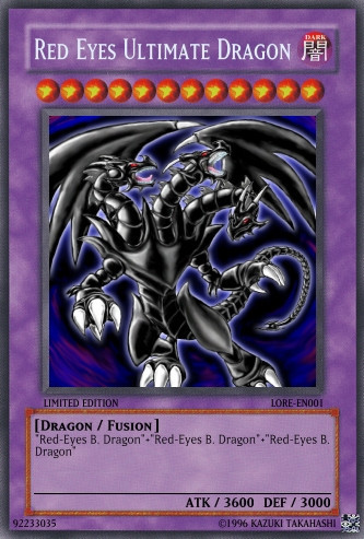 hello what other red eyes black dragon type cards are ...