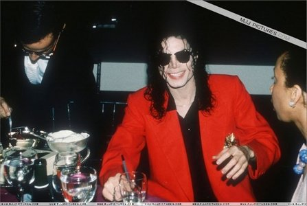 Yay! Ikr, and he looks fantastic in red too!