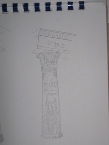i draw it for my lovely country EGYPT and her pretty ancient monument