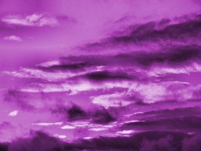 ....the sky is purple :)