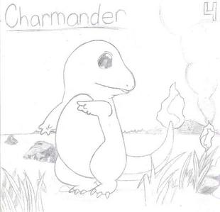 Probably my best. It's the picture from one of my Pokemon cards, but no, i didn't trace it, I free-handed it.