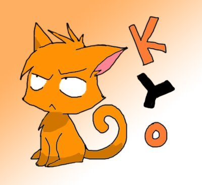 Uhm, Kyo from Fruits Basket. upendo his cat form. :)