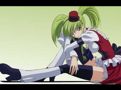 here I hope wewe like it,c.c from the anime code geass and code geass r2.