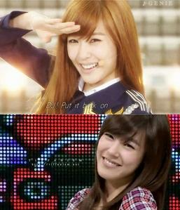 definantely TIFFANY! <3 her beautiful smile also comes with the BEST AND CUTEST eye-smile ever~ if i would hav to pick the সেকেন্ড best smile it wld be Yuri. BUT TIFFANY'S THE BEST!!! TIFFANY!