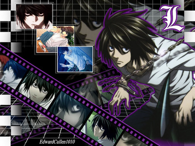 L Lawliet. of course Although we are ALREADY MARRIED I'm still gunna say it. x3