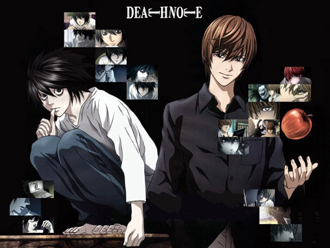 Death Note is the most epic Anime on the face of the planet.