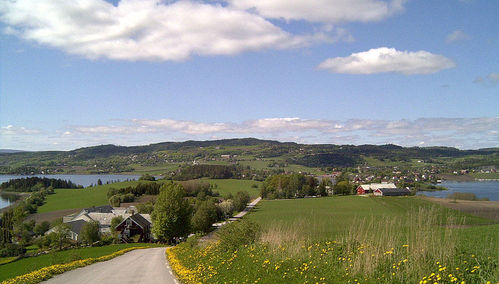It's so awesome to see and meet all these wonderful MJ Фаны from all over the world! :D I'm from Norway, the middle states, and this is how it looks here where I live! ->