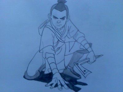 Sokka, beacuse he has the smooth voice for it.