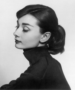 my family tell me much anda look like Audrey Hepburn's Just That I'm lebih Young and my skin tone is not so clear But We Have many similarities :)