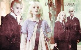 I like Harry/Ginny and Ron/Hermione. In fact, I love those couples. But I wanted Luna/Draco. Please don't ask why- I don't even know- but I think they would have been the cutest couple. <3