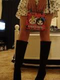 how cute i look in this skirt